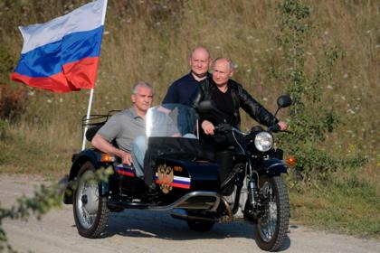 Путин похвалил главу Крыма