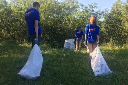 Россияне очистили от мусора около 80 километров речных берегов