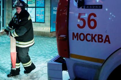 В жилом доме в Москве произошел взрыв