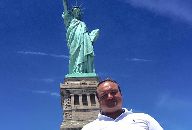 Павел Угланов в США
