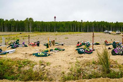 Медведь украл покойника с российского кладбища