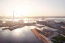 Канатную дорогу IJbaan по проекту UNStudio строят в Амстердаме к 750-летию города: движение по ней будет открыто в 2025 году. Проект масштабный: дорога свяжет районы Амстердам-Вест и Амстердам-Норд, и после ее запуска добраться из одной точки в другую можно будет за несколько минут.