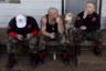 Shield Wall Network была создана в Арканзасе в 2017 году. Ее цель — построение этногосударства белых людей на территории США и защита его от пришлых захватчиков. Символ организации на шевронах — греческая буква лямбда. По легенде, она была изображена на щитах спартанцев, отстоявших европейскую цивилизацию от нападения персов в битве при Фермопилах.
