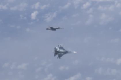 От самолета Шойгу отогнали истребитель НАТО