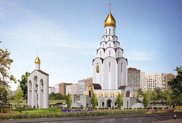 Храм в честь Святого равноапостольного великого князя Владимира