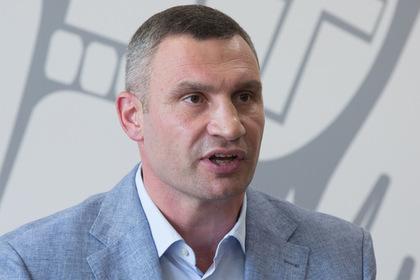 Правительство Украины отказалось увольнять Кличко