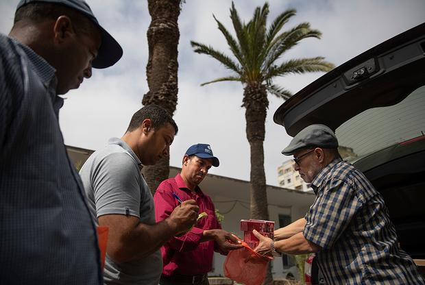 Отец 27-летней Фатимазехры Эль-Газауи оставил работу ветеринаром и посвятил жизнь помощи детям с ксеродермой. «Больно смотреть, как они страдают из-за незнания», — говорит он. Он раздает больным солнцезащитный крем и маски, снабжает медицинские учреждения в Касабланке данными и возглавляет Ассоциацию солидарности с лунными детьми, которая добивается, чтобы власти приняли меры по борьбе с этим недугом.