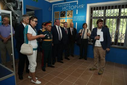 В России открыли музей командовавшего первой бомбардировкой Берлина в 1941 году