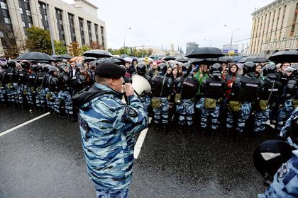 В Москве разрешили новый 100-тысячный митинг
