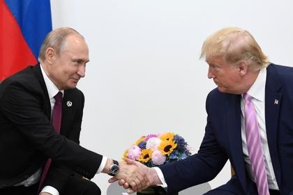 Болтон оценил мысли Трампа о личных отношениях с Путиным