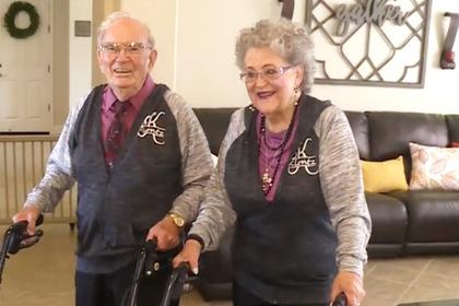 Прожившие вместе 68 лет супруги раскрыли секрет долговечных отношений