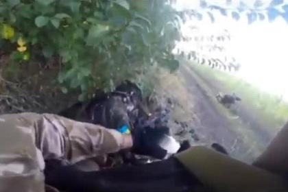 Сгоревших в БМП под Иловайском украинских разведчиков показали на видео