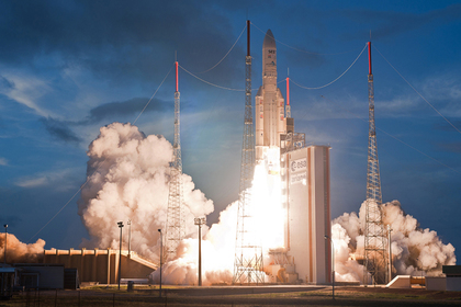 Европейская ракета взорвалась на орбите
