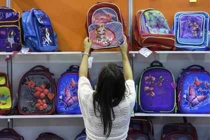 Россиянам дали рекомендации по выбору школьных портфелей