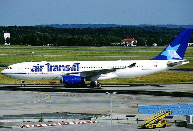 Авиалайнер Airbus A330-243 авиакомпании Air Transat был создан для конкуренции с Boeing 767, которому до инцидента над Атлантикой принадлежал рекорд планирования с выключенными двигателями.