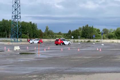 Появилось видео с полного беспилотников секретного российского полигона