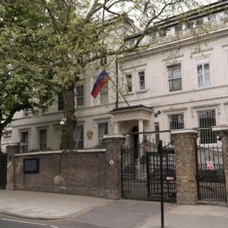 Главное здание посольства РФ в Лондоне
