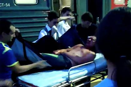 В сети появилось видео из окровавленного вагона поезда после драки пассажиров