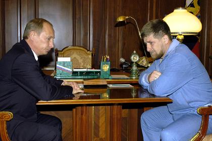 Кадыров раскрыл детали разговора с Путиным после смерти отца