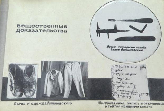 Из материалов уголовного дела Владимира Винничевского