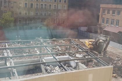 Цементный завод рухнул под Петербургом