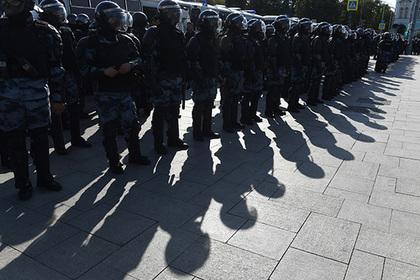 В московской полиции начались массовые сокращения