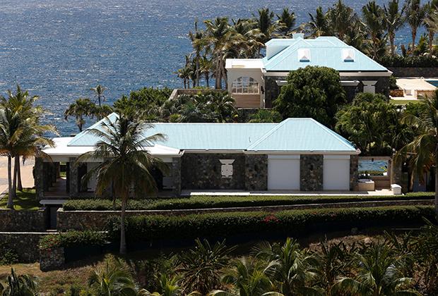 Недвижимость Эпштейна на острове Литл Сент-Джеймс (Американские Виргинские острова)