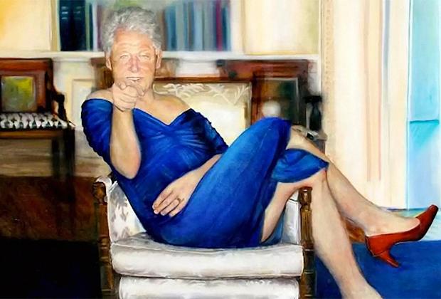 Картина «Анализ Билла» художницы Петрины Райан-Клейд