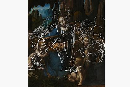 Раскрыто тайное изображение на картине Леонардо да Винчи