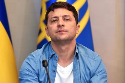 Зеленский отказался общаться с российскими журналистами