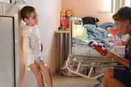 Аиша и уполномоченная по правам ребенка Анна Кузнецова