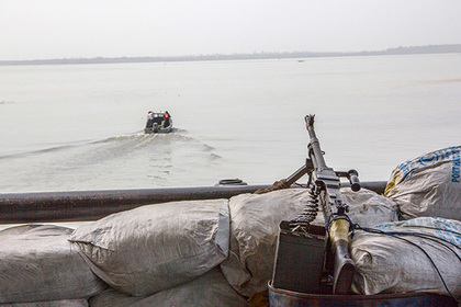 Россиян захватили в плен у берегов Камеруна