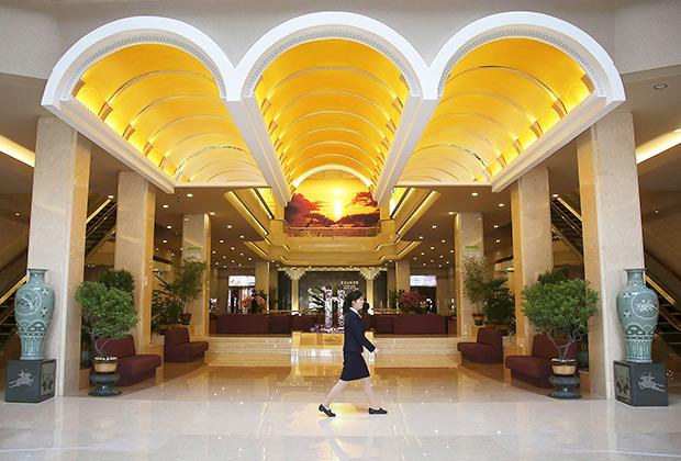 Лобби отеля «Корё»