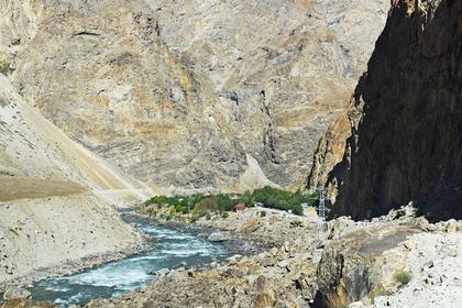 Российскую туристку унесла горная река в Таджикистане