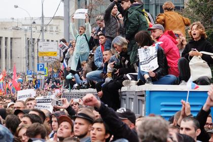 Названы ответчики по искам из-за ущерба от несогласованных акций в Москве