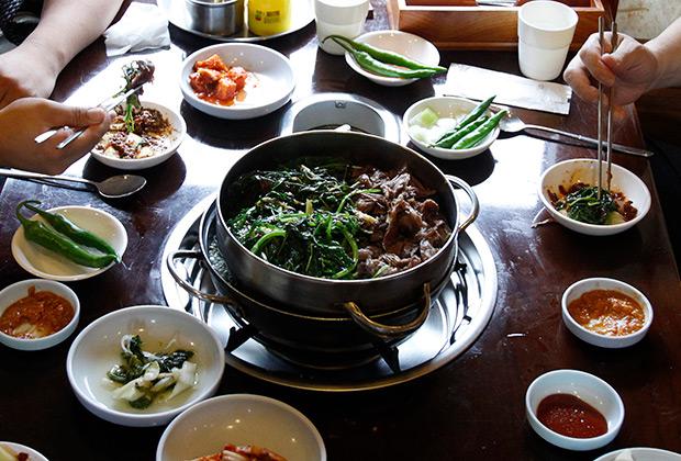 В одном из ресторанов Сеула