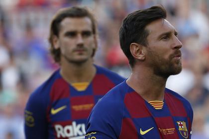 «Барселона» без Месси проиграла первый матч в чемпионате Испании