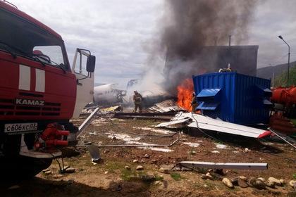 В России захотели наградить экипаж еще одного аварийного самолета