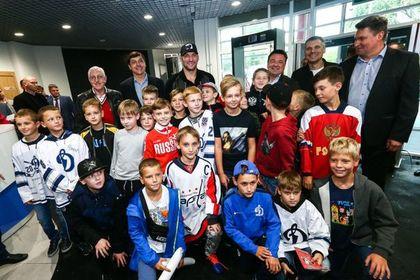 Воробьев выступил на Кубке Александра Овечкина