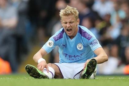 VAR прервала рекордную победную серию украинского игрока «Манчестер Сити»