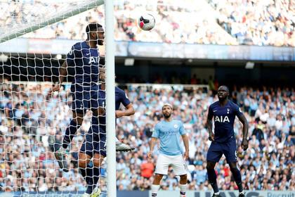 Появилось видео с лучшими моментами матча «Манчестер Сити» — «Тоттенхэм»
