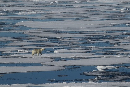За полярным кругом установлен температурный рекорд