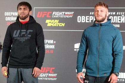 Российский боец снялся с турнира UFC в Абу-Даби