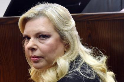 Жена Нетаньянху устроила дебош и выбросила каравай на Украине