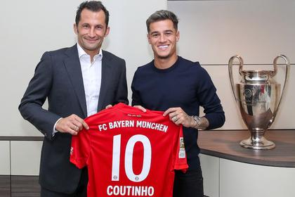 «Барселона» отдала бразильца Коутинью «Баварии»