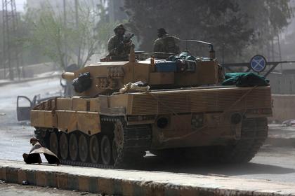 Турецкие войска вторглись в Сирию