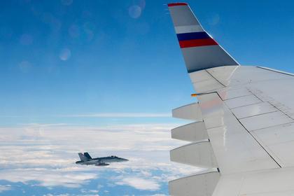 В Кремле отреагировали на сопровождение Ил-96 швейцарскими истребителями