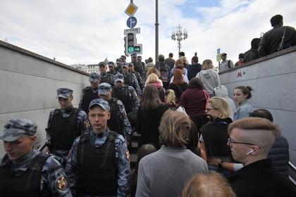 Путин впервые прокомментировал массовые акции в Москве