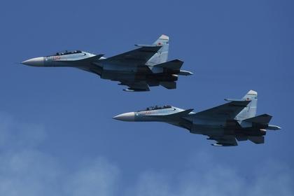 Британские истребители перехватили российские Су-30 над Балтикой