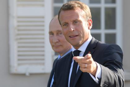 Макрон вспомнил о европейской душе россиян на встрече с Путиным